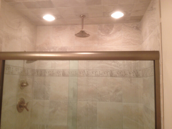 Metal Shower Door Frame